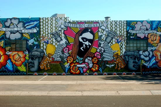 Phoenix Graffiti Murals Hint at thriving Street Art Scene