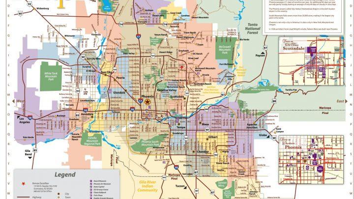 Phoenix Zip Code Maps